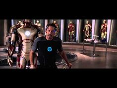 """In this clip we get to see a post """"Avengers"""" Tony Stark.  Stark much like his suits is just a shell.  Stark says, 'nothing has been the same since New York"""" because he cannot sleep and he has these constant flashbacks.  Stark is shell shocked for he almost died sacrificing himself to stop an alien invasion.  All he has now is his suits and Pepper.  He will not stop tinkering with his gadgets until he is sure he can keep the only thing he cares about, Pepper, safe."""