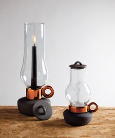 Mod Oil Lamp - Large - Industrial Chic Collection - Dot & Bo