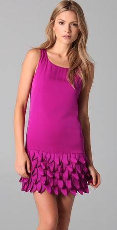 cute dress for spring but on sale now via @shopbop