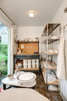 Pottery Studio Shed Ceramics - - Studio Shed, Clay Studio, Ceramic Studio, Garage Studio, Pottery Workshop, Ceramic Workshop, Pottery Studio, Home Art Studios, Art Studio At Home