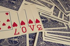 Unique Valentine's Day Card Tutorial Using a Deck of Cards