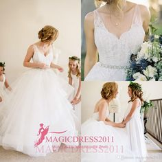 2016 Bohemian A-Line Wedding Dresses with Sheer Straps Heavily Embelishment Backless Ruffled Vintage Garden Chapel Court Train Bridal Gowns Wedding Dresses Beach Bridal Gowns Garden Vintage Wedding Gown Online with 146.0/Piece on Magicdress2011's Store | DHgate.com