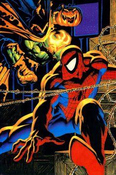 Spider-Man vs Hobgoblin by Dan Lawlis