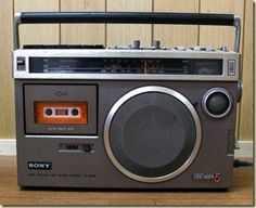 Sony old radio cassette