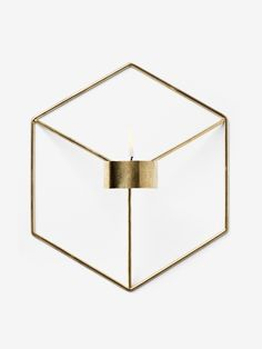 POV candleholder wall from Menu by Note Design Studio Wall Mounted Candle Holders, Glass Votive Holders, Candles For Sale, Candle Lamp, Geometric Wall, All Modern, Modern Living, Candlesticks, Porta Velas