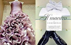 Carlo Pignatelli featured on Elle Spose n.11 #carlopignatelli #wedding #matrimonio #sposa #bride #sposo #groom #couture #cerimonia #weddingday #editorial