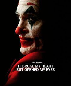 Joker Quotes As Inspiring Motivational Posters. Save this Joker Quotes inspirational motivational Open my eyes! Joker Love Quotes, Joker Qoutes, Best Movie Quotes, Badass Quotes, Eye Quotes, Hurt Quotes, Attitude Quotes, Citations Jokers, Citations Film