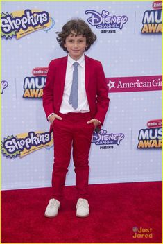 August Maturo at the Radio Disney Music Awards 2015