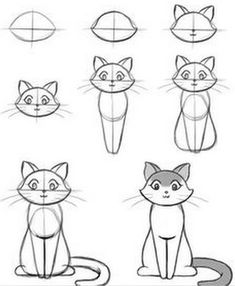 How To Draw Easy Animals Step By Step Image Guide - . - How To Draw Easy Animals Step By Step Image Guide – # Source by alanaraquels Easy Drawing Tutorial, Eye Tutorial, Mermaid Drawing Tutorial, Disney Drawing Tutorial, Drawing Disney, Art Drawings Sketches, Cool Drawings, Art Sketches, Simple Animal Drawings