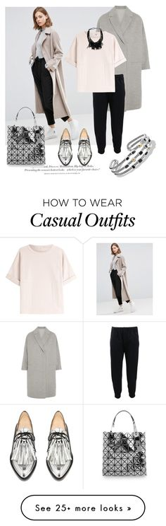 """""""Casual"""" by grinevagh on Polyvore featuring ASOS, Brunello Cucinelli, David Yurman, H&M and Bao Bao by Issey Miyake"""