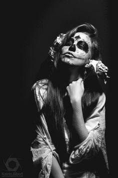 Dias de los muertos - Day of the dead #halloween #makeup #inspiration by @KatrinAlbert #katrinalbert #photography