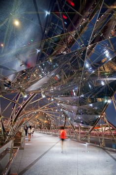 """Marvel At This Beautiful """"Double-Helix"""" Bridge 