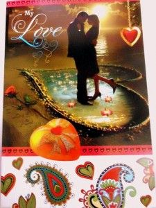 Love Greeting card from Winni.in