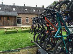 Bike Trailer vor dem