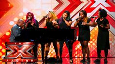 Silver Tone go back to their roots | Auditions Week 3 | The X Factor UK 2015