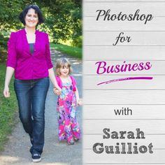 Did you know you could save hundreds of hours if you know how to use Mock-ups and Smart Objects? Learn about Photoshop for Business with Sarah Guilliot.