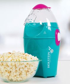 Look at this Holstein Housewares Teal Popcorn Maker on #zulily today!