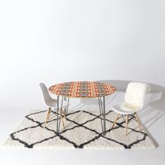 Holli Zollinger Mod Raindrop Round Table | DENY Designs Home Accessories