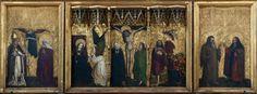 Tucher-Altar. Maestro dell'altare Tucher. 1440-1450. Norimberga Frauenkirche