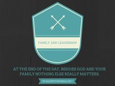 Family and Leadership