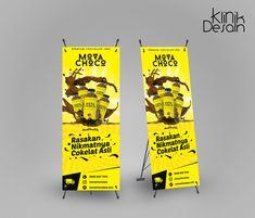 Mova Choco Banner Design by Klinik Desain Ku Banner Design