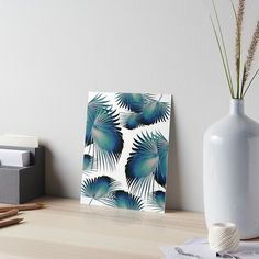 """Fan Palm Leaves Paradise #1 #tropical #decor #art"" Art Boards by anitabellajantz | Redbubble"