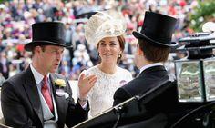 Pin for Later: Die britischen Royals zeigen sich von ihrer besten Seite in Ascot  Prinz William und Catherine, Herzog und Herzogin von Cambridge