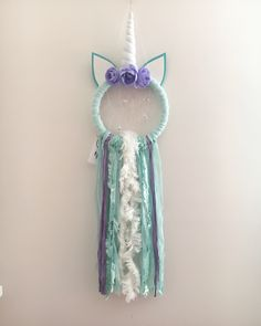A personal favorite from my Etsy shop https://www.etsy.com/ca/listing/590310971/hadley-unicorn-dream-catcher