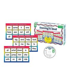 Look at this Listening Lotto: Learning to Read Set on #zulily today!