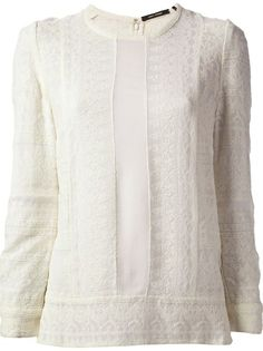 Isabel Marant 'Tess' Lace Top