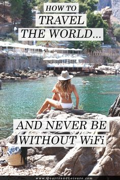 How to Travel the World and Never be Without #WiFi - Quartz & Leisure #tepwireless #travel travel wifi, wifi for travel