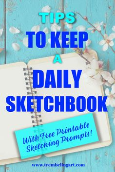 Sketchbooks are a snapshot of your art journey and are a good way to practice your drawing skills every day. Starting a sketchbook is really simple. Drawing Grid, Drawing Prompt, Drawing Skills, Drawing Tips, Sketchbook Inspiration, Sketchbook Ideas, The Beginning Of Everything, Mermaid Drawings, Sketching Tips