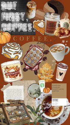 Sweet Coffee, Iced Coffee, Pumpkin Candles, Autumn Coffee, Autumn Aesthetic, Fall Pumpkins, Pecan, Cinnamon, Food