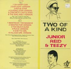 Junior Reid & Teezy - 1985 - Two Of A Kind [Tamoki Wambesi LP #TWLP 1009 1985]