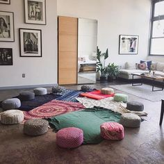 Design Your Way To Enlightenment - a new brand of meditation cushions for today's practice providing the perfect combination of support and comfort Meditation Cushion, Meditation Space, Zen Room, Cosmic, Heavenly, Nook, Living Room Furniture, Empty, Small Spaces