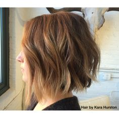 Choppy bob by Kara Hurston. Inspired by Lauren Conrad