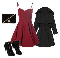 """""""Girls Night Out"""" by izzybelle1013 on Polyvore featuring Glamorous, Giuseppe Zanotti and Forever 21"""