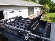 Drop-in Roof Rack: Surf and Snow& Version with Integrated Lock Box - Second Generation Nissan Xterra Forums Jeep Jk, Jeep Wrangler, Pajero, Montero Sport, Truck Mods, Shop Truck, Steel Roofing, Roofing Shingles, Bug Out Vehicle