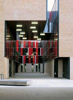 Alejandro Aravena St. Edward's University Dorms Courtyard View