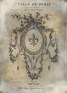 Fleur de Lis Posters and Prints at Art.com