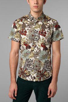 Charles & 1/2 Hippie Floral Shirt