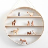 Circle shelf from Leo and Bella