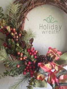 DIY Holiday Wreath