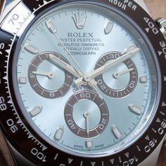 Rolex Daytona Platinum 116506 watch Hands-On