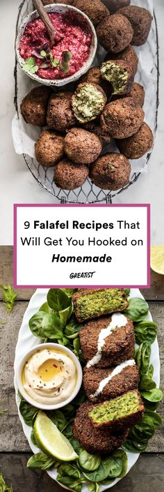 Falafel recipes that make you want to sing fa, la, la, la, la, la, la, la la, lafel. #greatist https://greatist.com/eat/falafel-recipe-for-every-type-of-eater