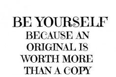 Than a copy