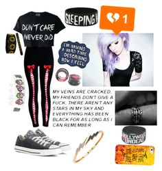 """""""*Sigh*"""" by themadonexd ❤ liked on Polyvore featuring art, emo, depressed, crying and suicidal"""