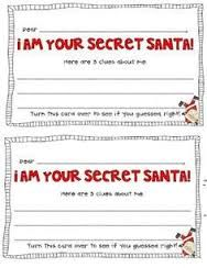 All about me a z free printable find out all you need to for Secret santa email template