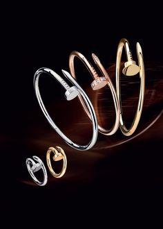 Cartier, e-catalogue - Cartier Jewelry 2013 JUSTE UN CLOU COLLECTION bracelets and rings