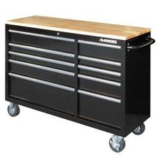 Yourtools 56 In 10 Drawer Tool Chest With Wooden Counter
